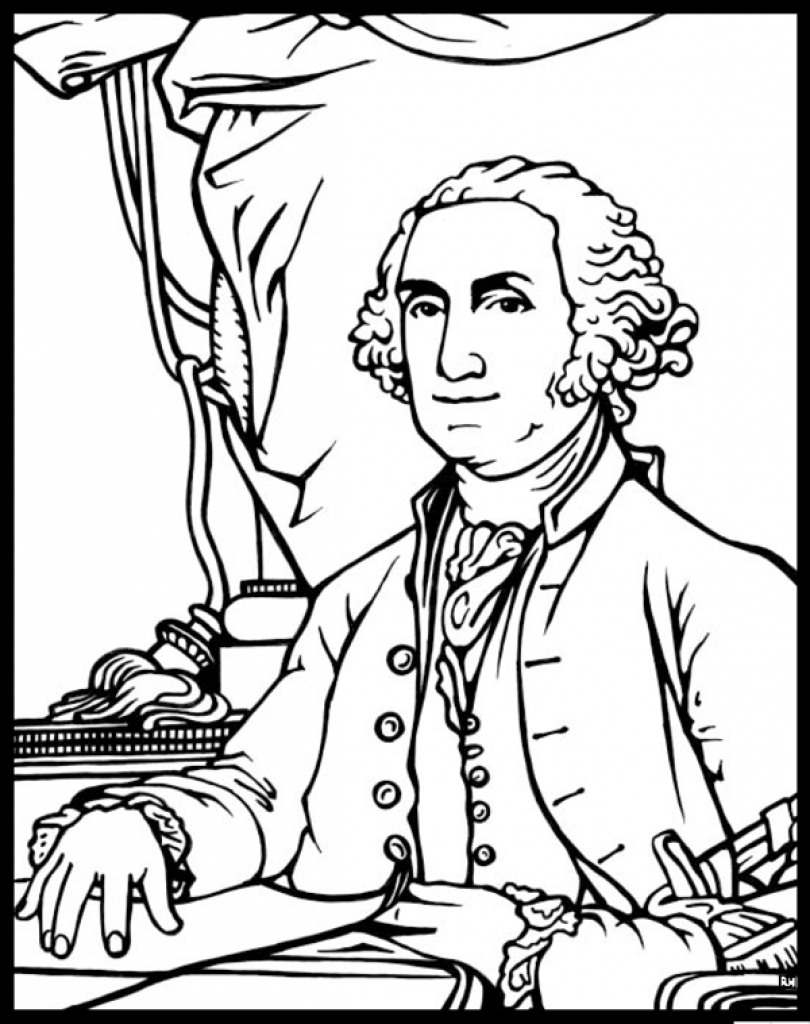 51b George Washington Coloring Page Wiring Resources