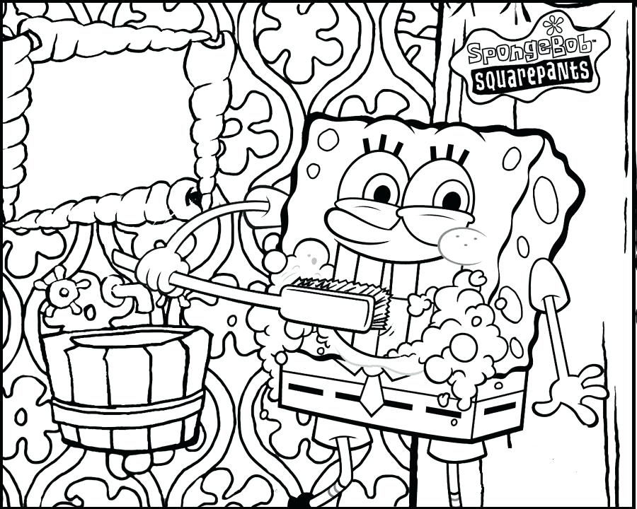 900x720 Free Printable Dental Coloring Pages Brushing Teeth Dental