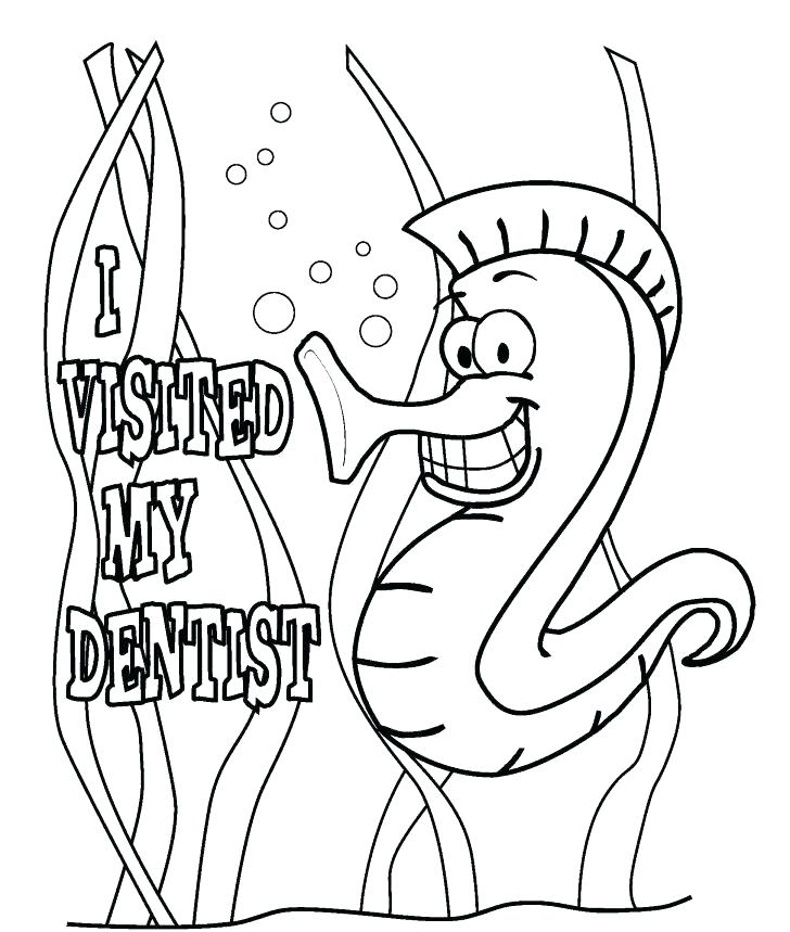 728x859 Dental Hygienist Coloring Pages Kids Coloring Dental Hygiene