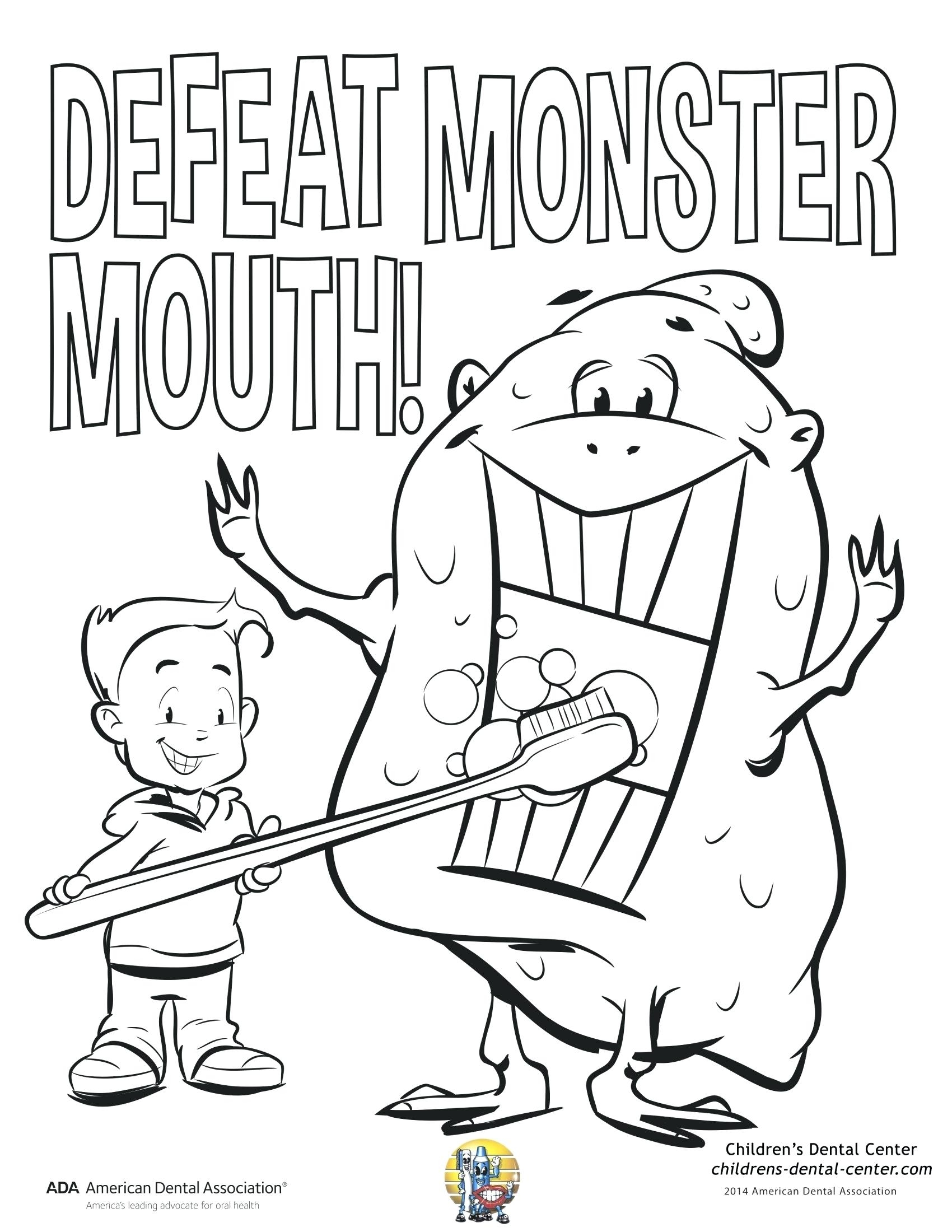 1700x2200 New Pediatric Dental Coloring Pages Collection Free Coloring Pages