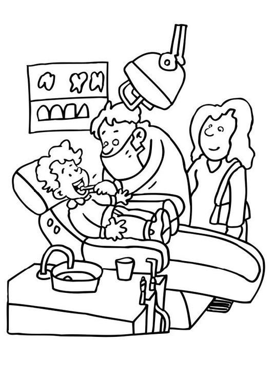 530x750 Teeth Coloring Pages Animations A Z