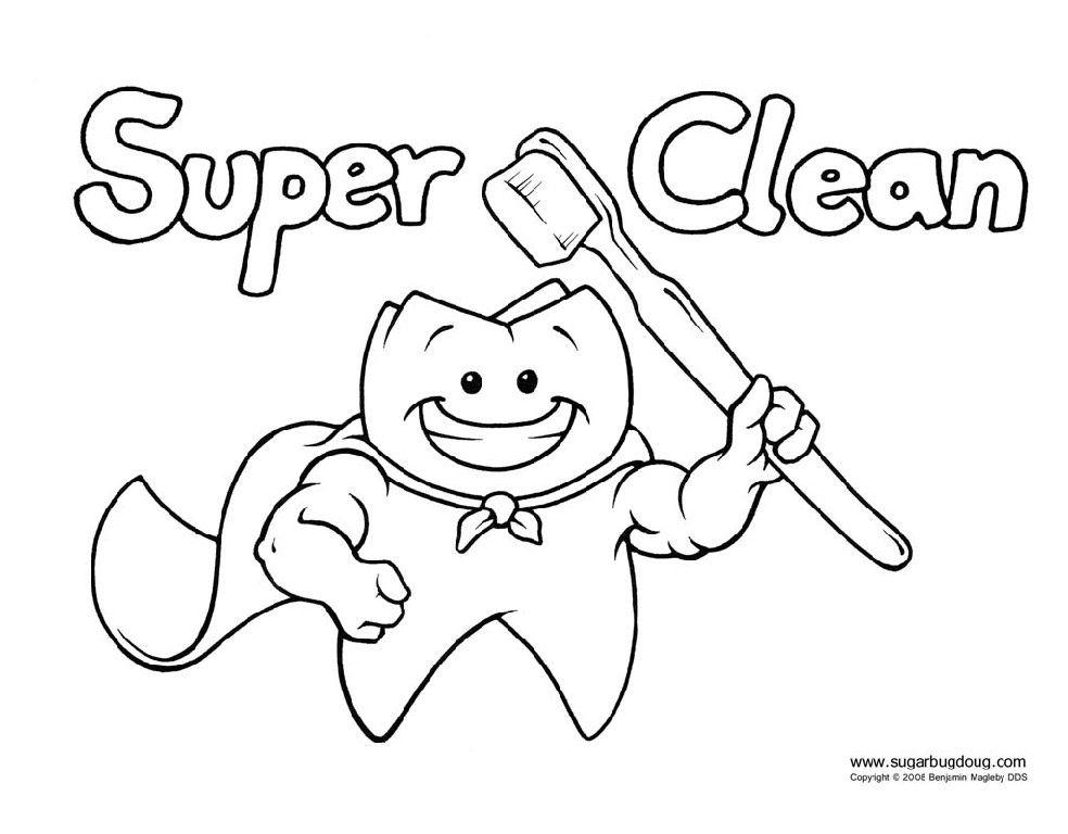 984x768 Printable Dental Coloring Pages Dental Stuff