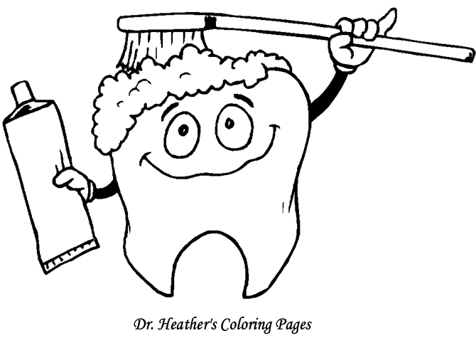 670x503 Dental Coloring Pages Printable Custom Tooth Coloring Pages Dental