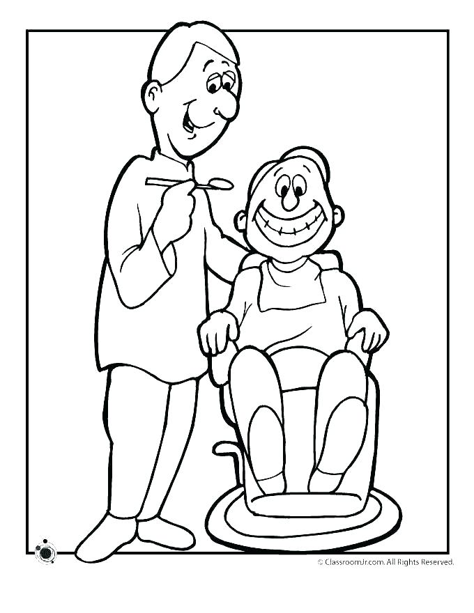 680x880 Dental Coloring Pages Printable Dental Coloring Pages Dental
