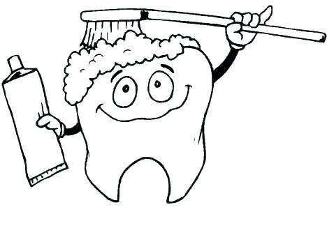 468x350 Health Coloring Pages Dental Hygiene Coloring Pages Dental Health
