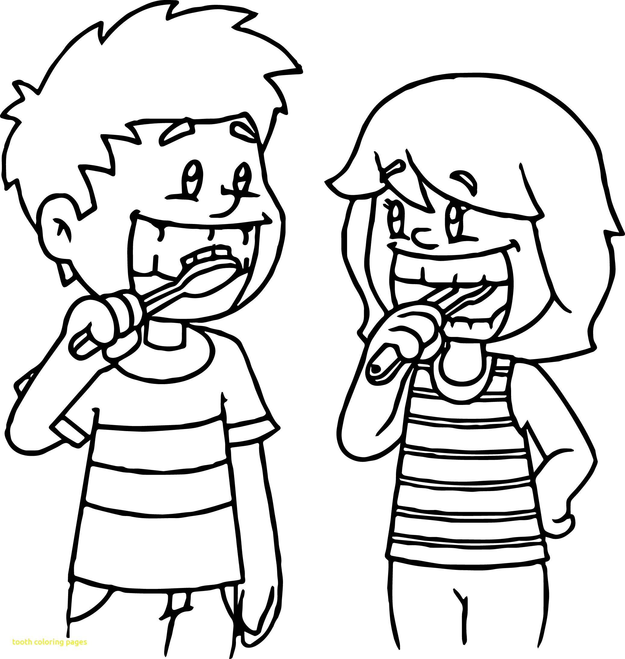2074x2189 The Best Health Coloring Pages Draw To Color Picture For Of Dental
