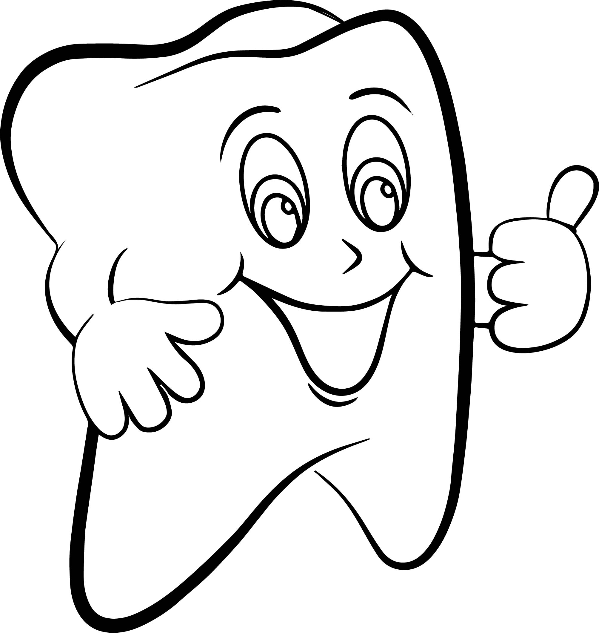 Dental Health Coloring Pages at GetDrawings.com | Free for ...