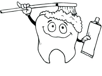 401x300 Dental Hygiene Coloring Pages Dentist Coloring Pages As Instrument