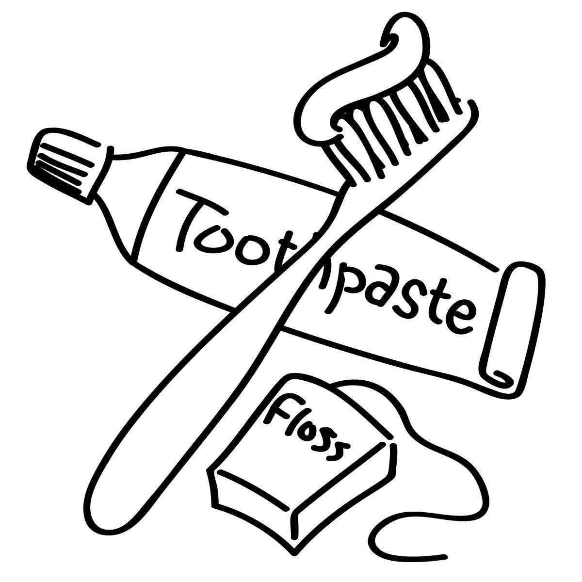 1200x1200 Dental Hygiene Coloring Pages For Kids Resume Samples