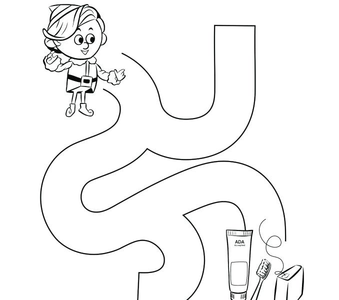 678x600 Dental Hygiene Coloring Pages Kids Coloring Travel Dental Hygiene