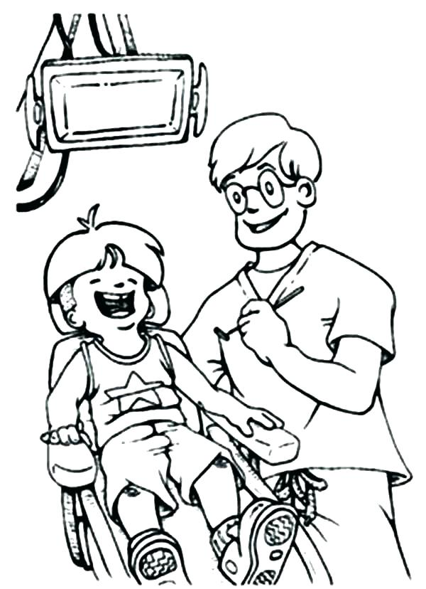 600x828 Dental Hygiene Coloring Pages Teeth Brushing Coloring Pages