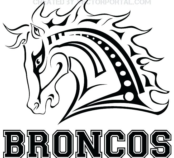 660x600 Denver Broncos Col Cool Denver Broncos Coloring Pages