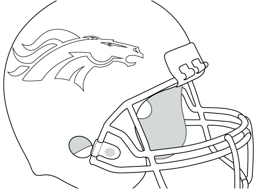 827x609 Denver Broncos Coloring Page Gallery Broncos Coloring Pages