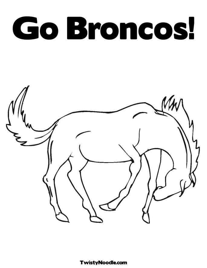 685x886 Denver Broncos Logo Coloring Pages Many Interesting Cliparts