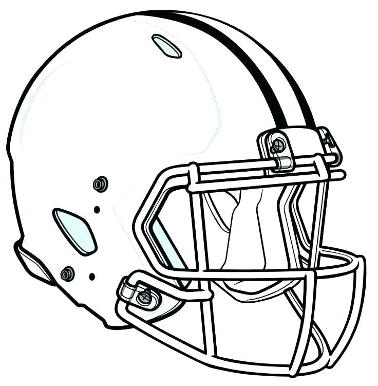 736x751 Football Helmet Coloring Page Football Helmet Coloring Page