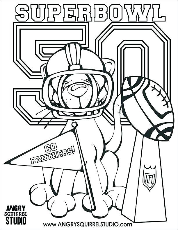 612x792 Free Printable Denver Broncos Logo Printable Coloring Printable