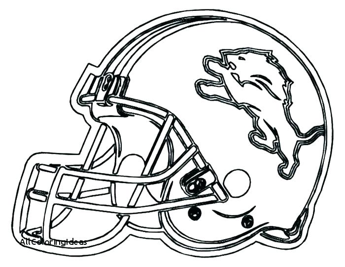 700x541 Denver Broncos Helmet Coloring Pages