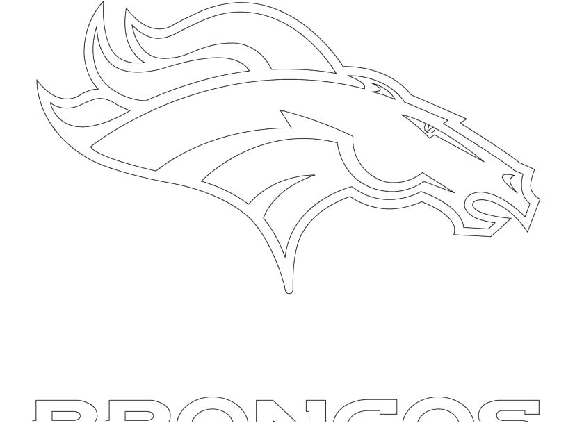827x609 Broncos Coloring Pages Exquisite Ideas Logo Coloring Pages Broncos