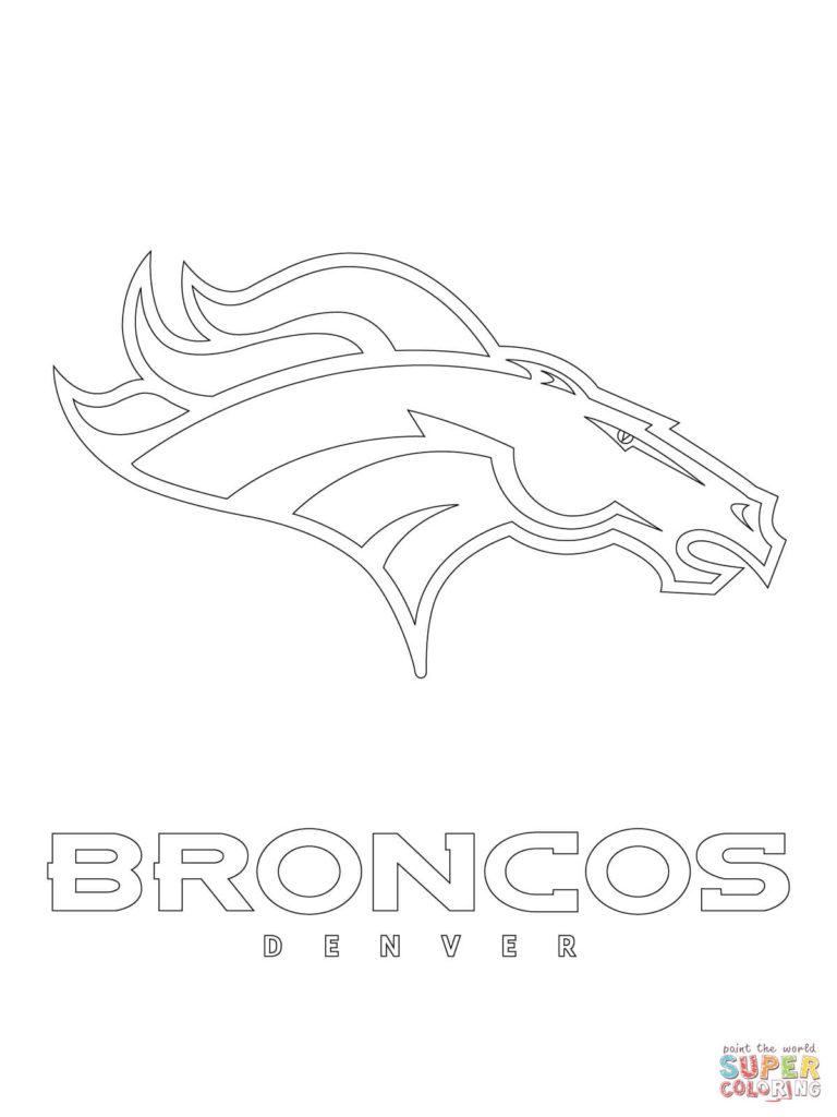 768x1024 Denver Broncos Coloring Page Get Bubbles