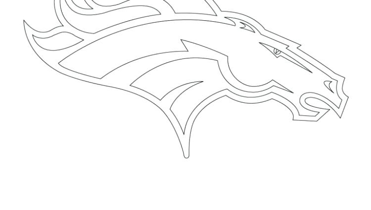 Denver Broncos Coloring Pages Print at GetDrawings.com ...