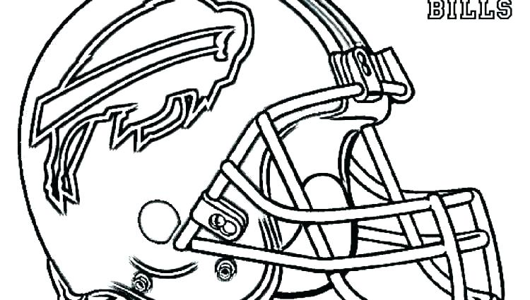 750x425 Denver Broncos Coloring Pages Print Football Helmet Coloring Pages