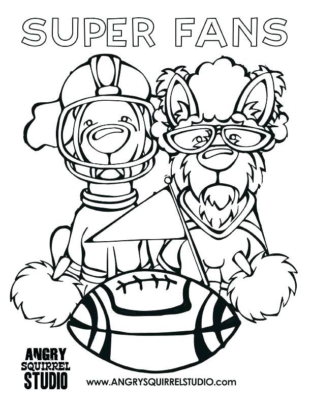 612x792 Denver Broncos Mascot Coloring Pages Broncos Coloring Pages