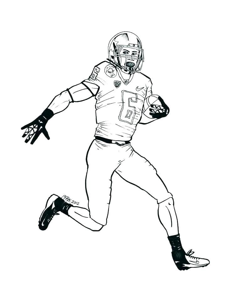 736x951 Bronco Coloring Pages Printable Broncos Logo Stencil Broncos