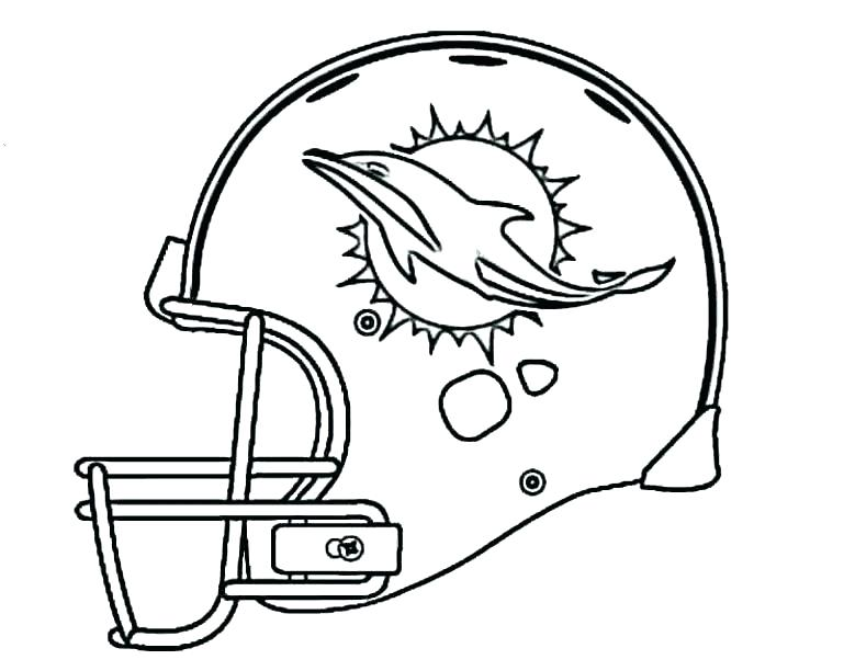 769x612 Broncos Coloring Pages Football Helmet Coloring Pages Coloring