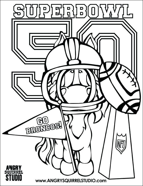 612x792 Colorear Denver Broncos Click To See Printable Version Of Broncos