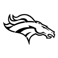 236x236 Denver Broncos Logo Coloring Page Coloring Denver