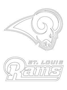 Denver Broncos Logo Coloring Pages At Getdrawingscom Free For