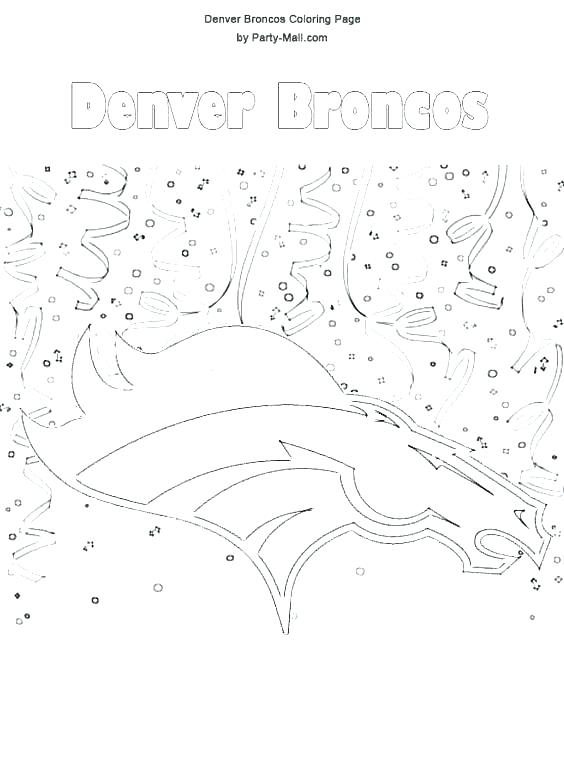 564x775 Broncos Coloring Pages Coloring Pages Photograph Coloring Pages