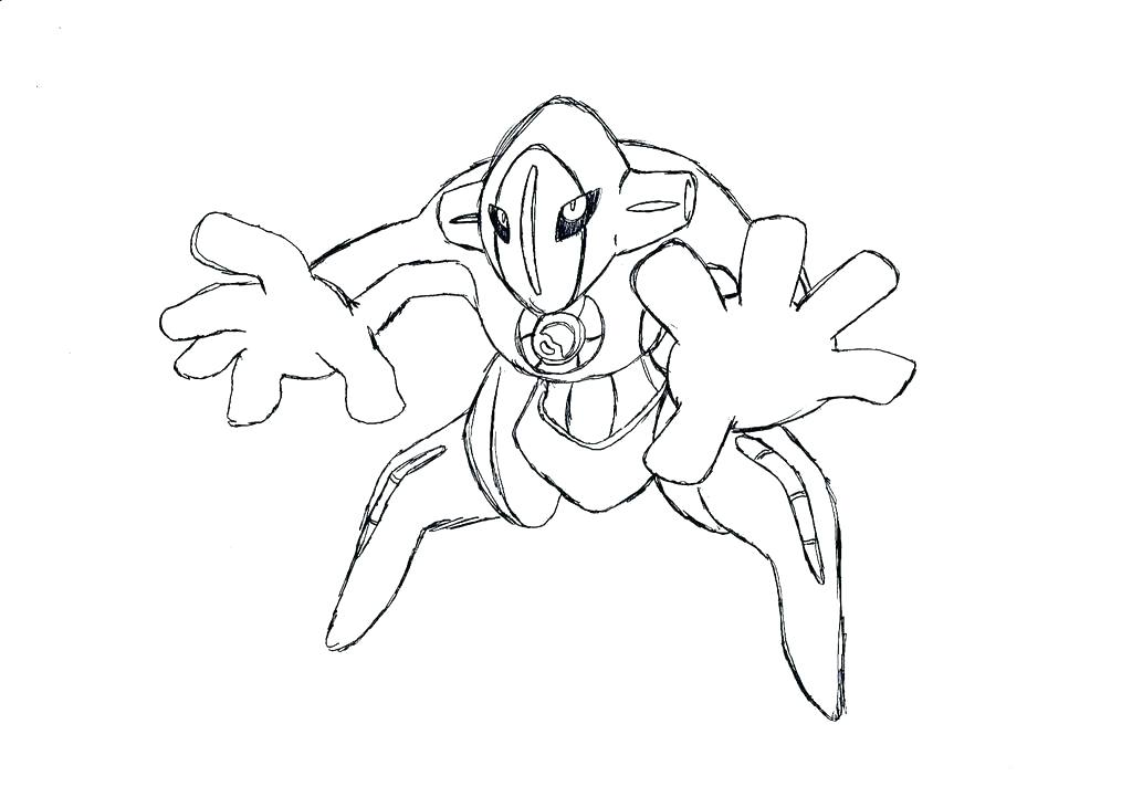 1024x731 Deoxys Coloring Pages Mega Best Coloring Pages For Adults