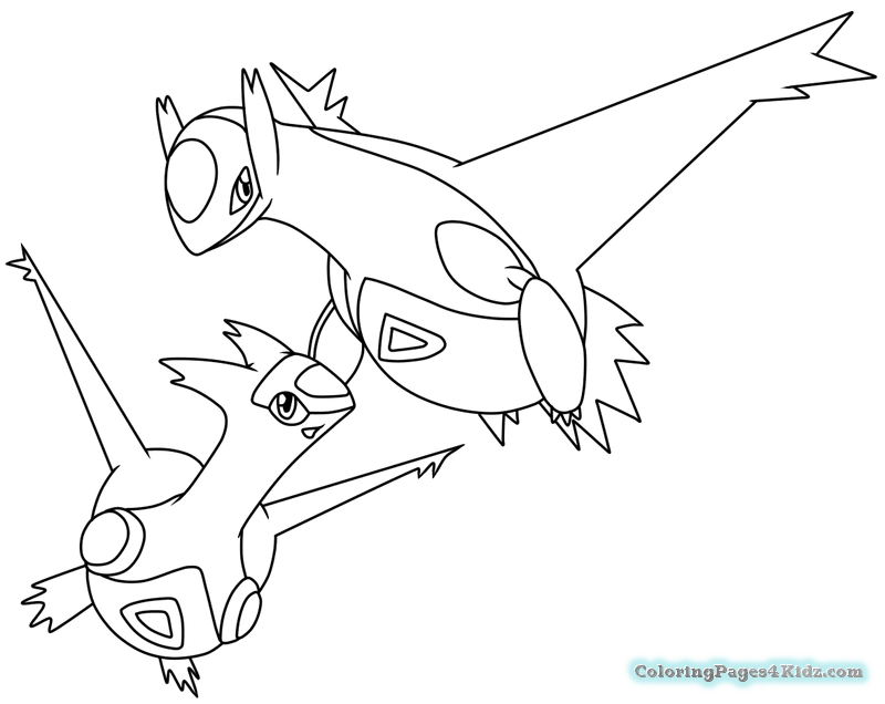 800x636 Legendary Pokemon Coloring Pages Hoenn Deoxys Coloring Pages
