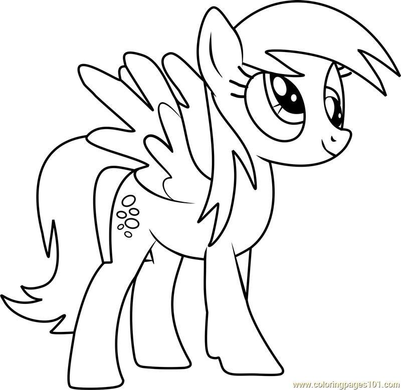 Derpy Hooves Coloring Pages