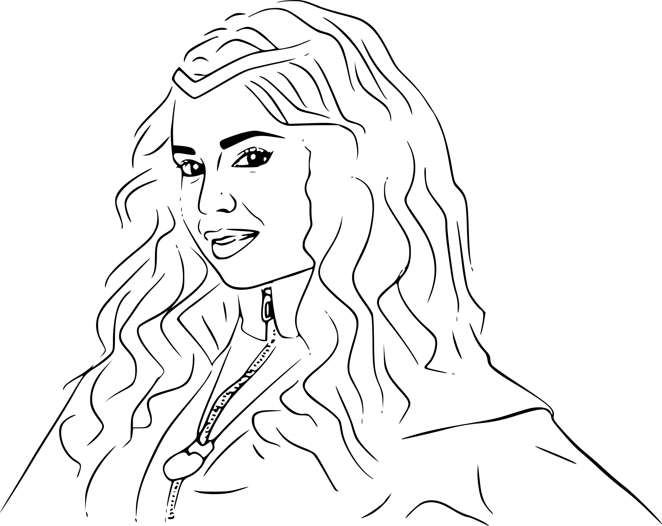 Descendants Coloring Pages Printable At Getdrawings Com Free For