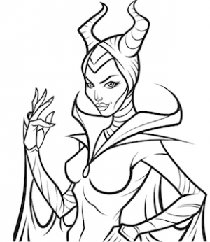 300x346 Descendants Uma Coloring Page Free Printable Coloring