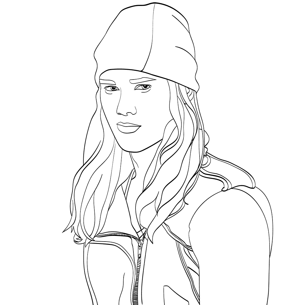 1024x1024 Descendants Coloring Page Jay Is Son Of Jafar