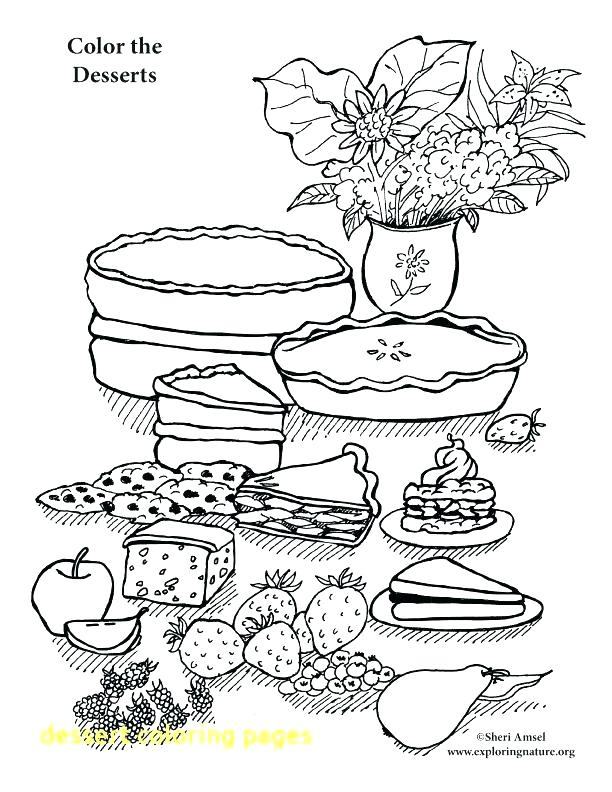 612x792 Dessert Coloring Pages Arizona Desert Animals Coloring Pages