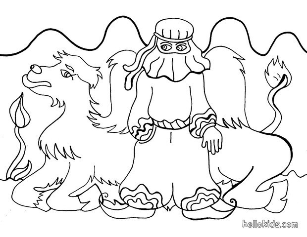 620x480 Desert Coloring Pages