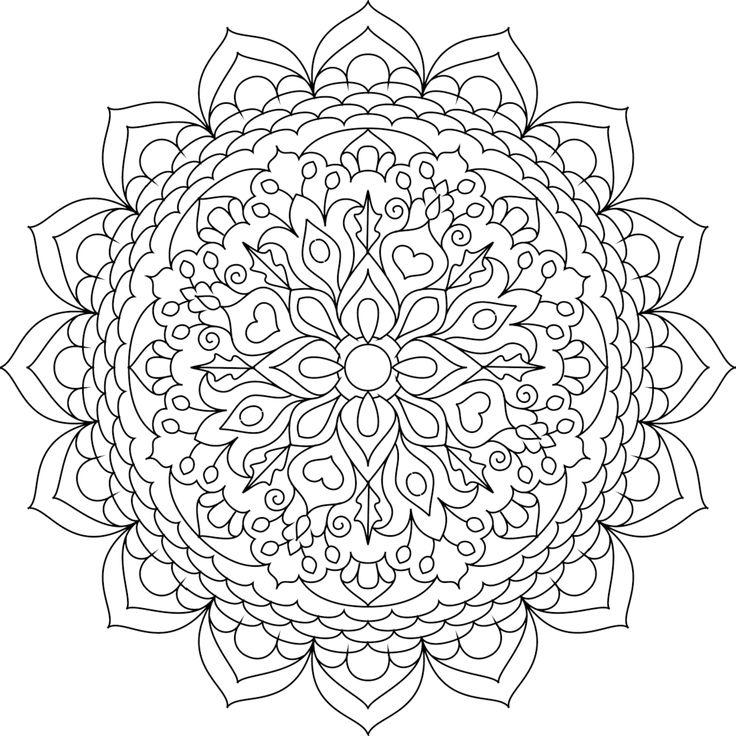 736x736 Best Printable Mandalas To Color