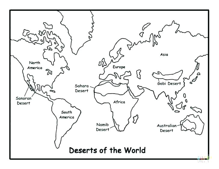 728x563 Desert Coloring Pages Desert Coloring Pages To Download And Print