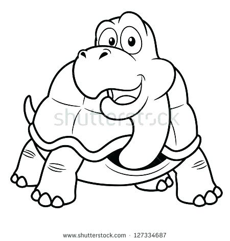 450x470 Tortoise Coloring Page Coloring Desert Tortoise Coloring Page