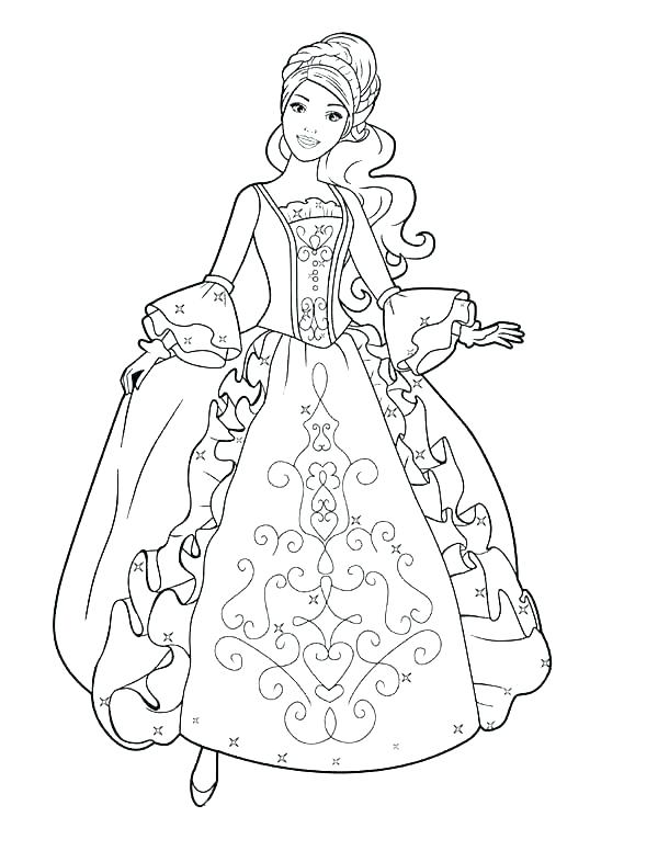 600x776 Dress Up Coloring Pages Coloring Pages Dresses Dress Up Coloring