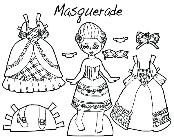 600x480 Coloring Pages Of Dresses Fancy Dress Coloring Sheet Coloring