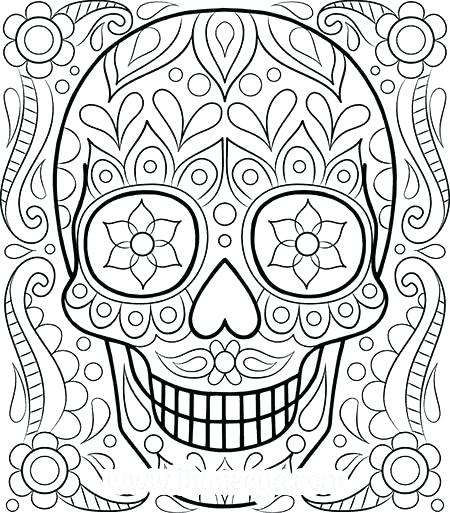 450x513 Printable Coloring Sheets For Adults