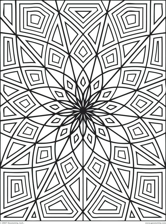 640x864 Printable Design Coloring Pages Pattern Coloring Pages Pattern