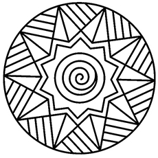 230x230 Top Free Printable Geometric Coloring Pages Online