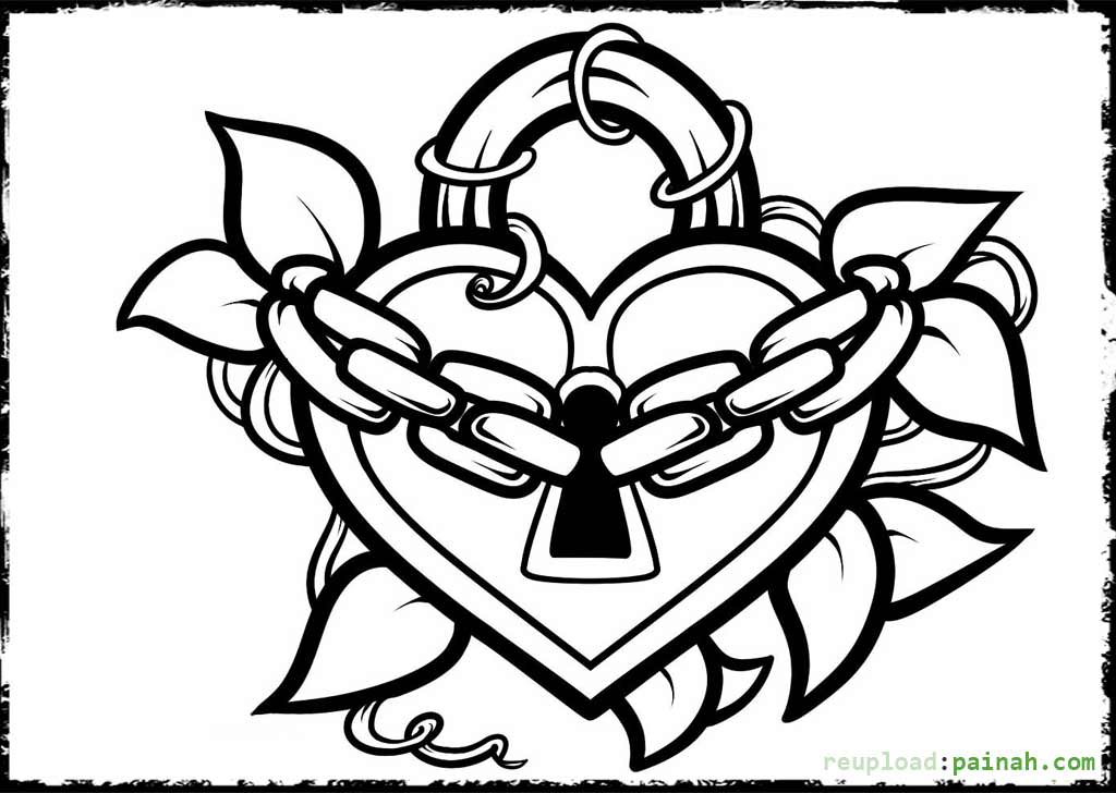 1024x728 Cool Design Coloring Pages For Teenagers