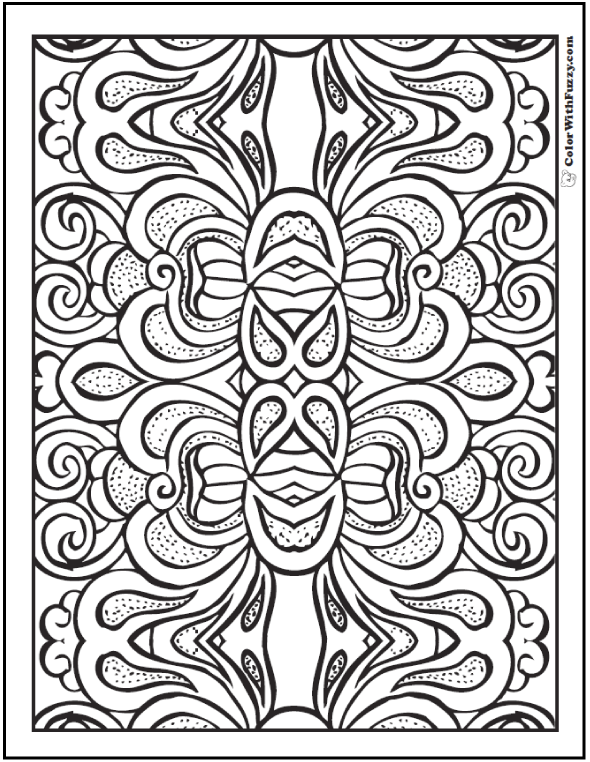 590x762 Coloring Pages For Adults Patterns